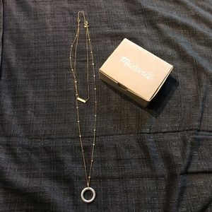 Madewell long chain necklace